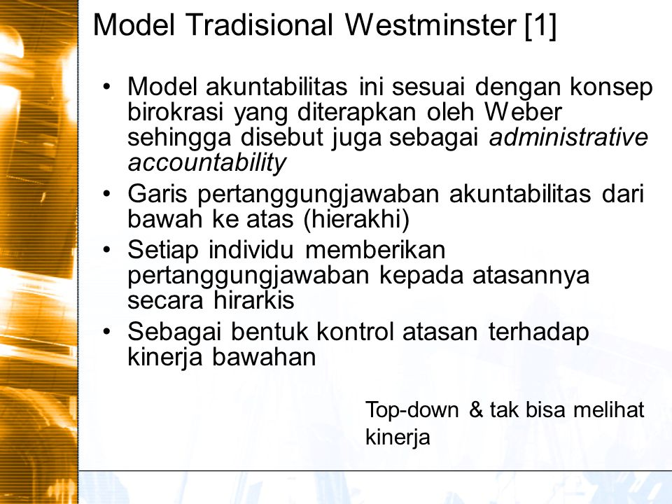 Model Tradisional Westminster [1]